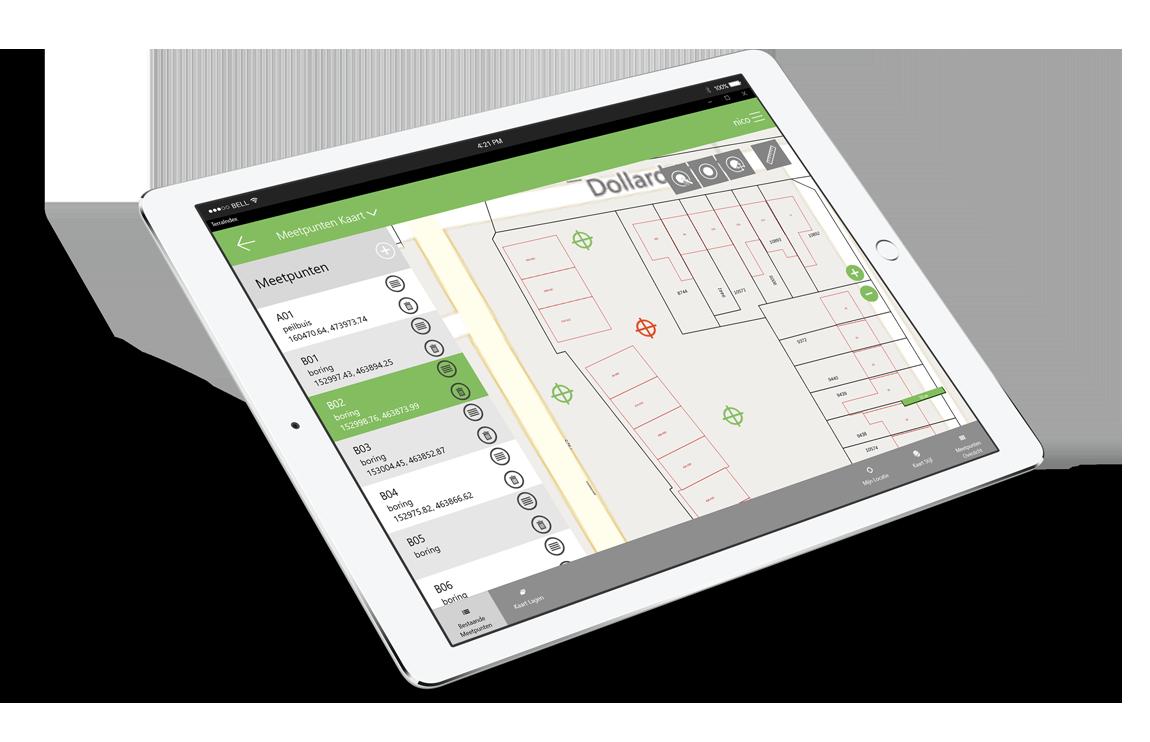 TerraIndex software bodemonderzoek soil investigation automation automatisering klanten customers